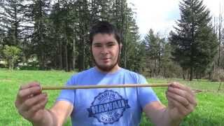100lb Medieval Style Pvc Crossbow For Under $10 Part 6 - Making Crossbow Bolts With Wood Dowels