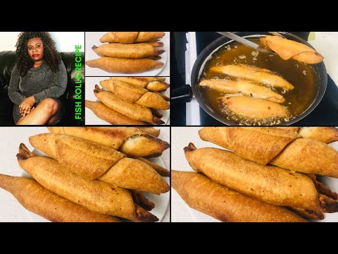 ✅ NIGERIAN FISH ROLL RECIPE | EASY STEP BY STEP GUIDE FOR BEGINNERS from YouTube · Duration:  12 minutes 40 seconds