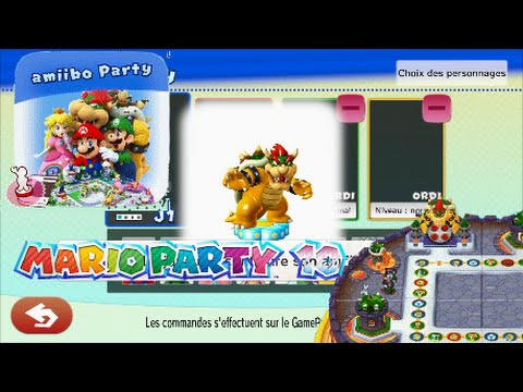 Mario Party 10 Amiibo Party Plateau Bowser