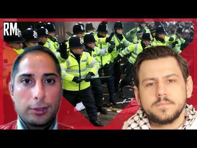 Kill The Bill Protests in the UK -  Mohamed Elmaazi & Richard Medhurst