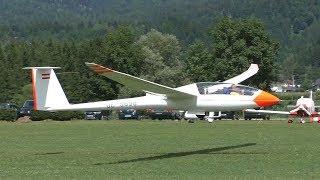 Schempp-Hirth Duo Discus getting aerotowed at Airfield Nötsch | OE-5698