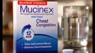Mucinex comercial thumbnail