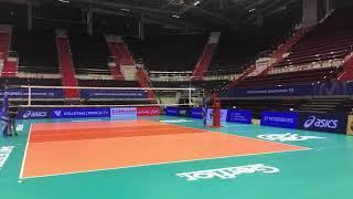 Волейбол. Олимпийская  квалификация. Сибур арена