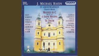 Missa in C MH 44 VII. Agnus Dei. Adaio