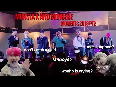 Monsta X And Monbebe Moments 2019 Pt2