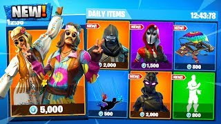 fortnite just leaked 10 skins + the road trip skin.. (enforcer skin, ravage skin)