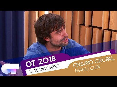 Ensayo GRUPAL de 'THE EDGE OF GLORY' con MANU GUIX (14DIC) | OT 2018