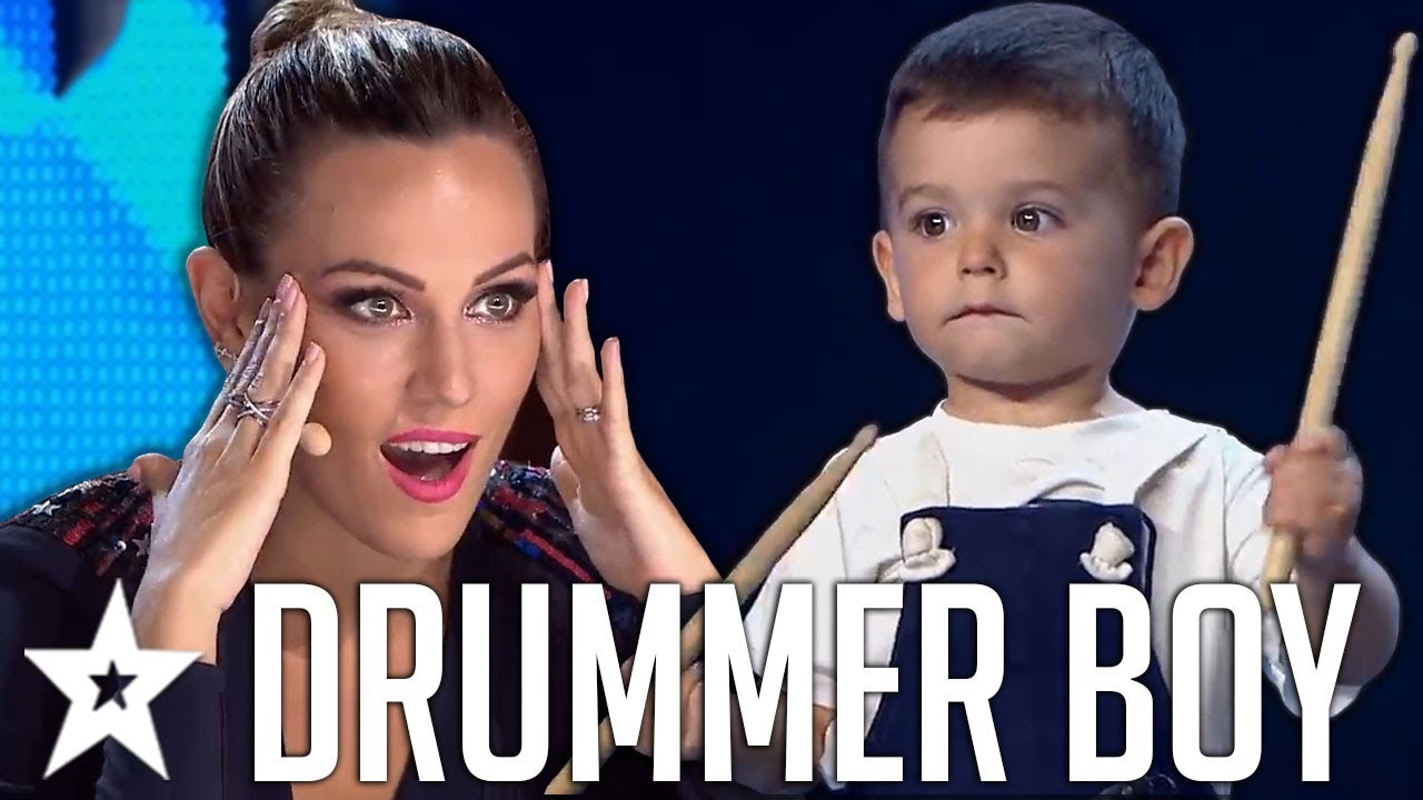 Brilliant BABY Drummer SHOCKS Everyone On Spain's Got Talent 2019! | Got Talent Global - YouTube