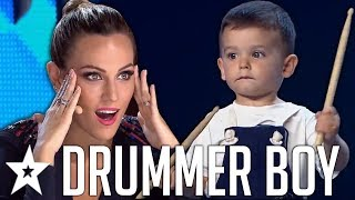 Download lagu Brilliant BABY Drummer SHOCKS Everyone On Spain's Got Talent 2019! | Got Talent Global
