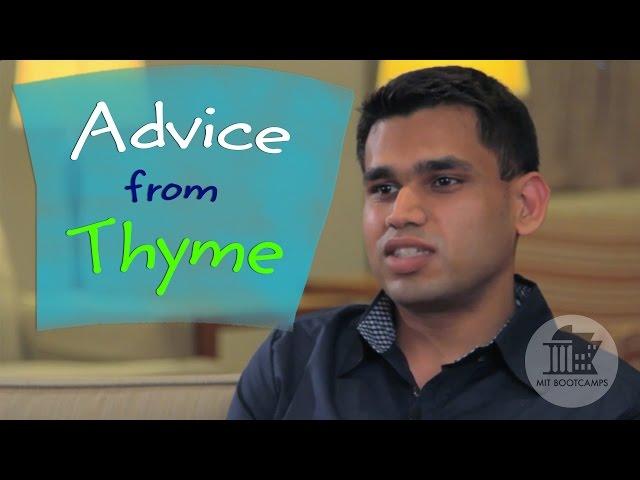 #39. Tips for Entrepreneurs -  Thyme Labs