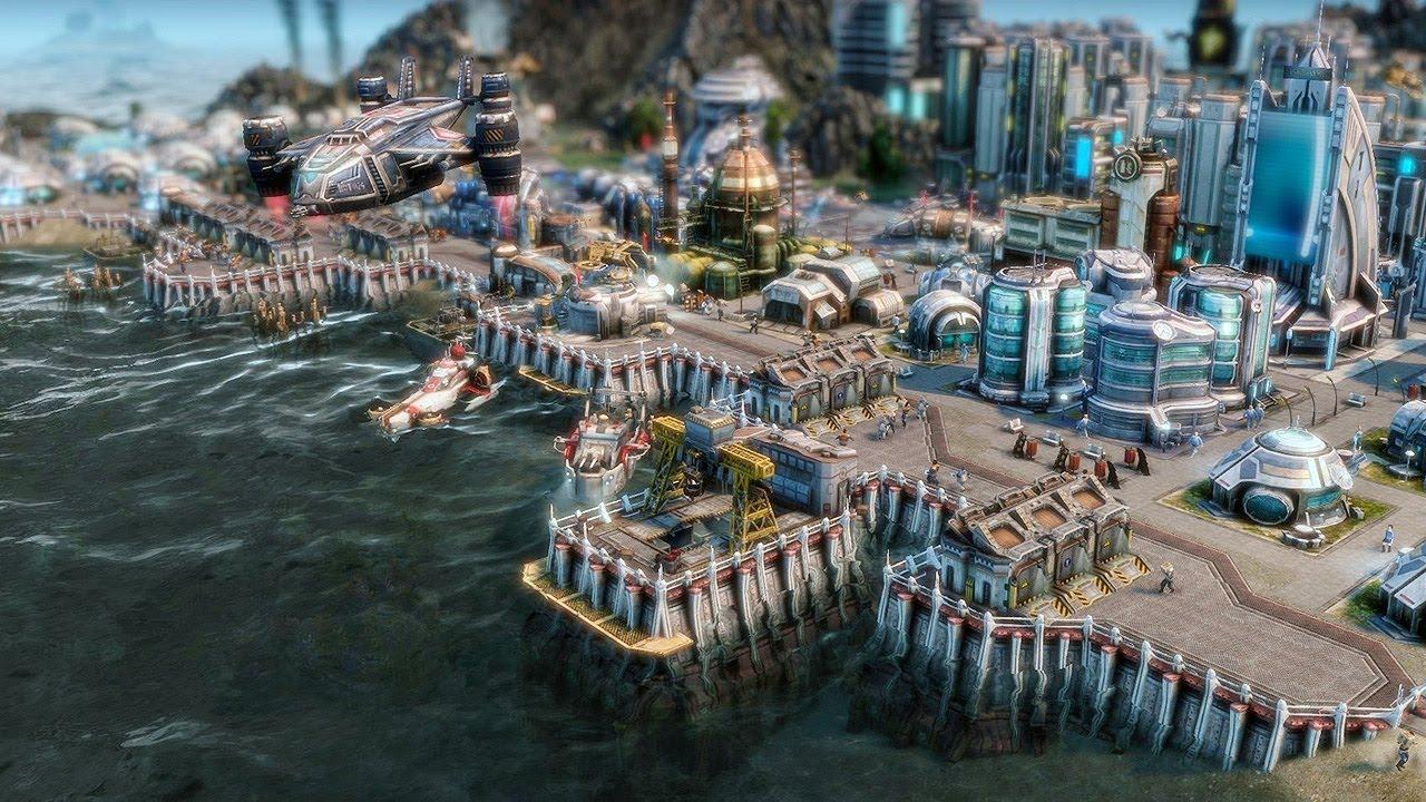 Anno 2070 erste mission der demo durchgespielt neues for Anno 2070 find architect
