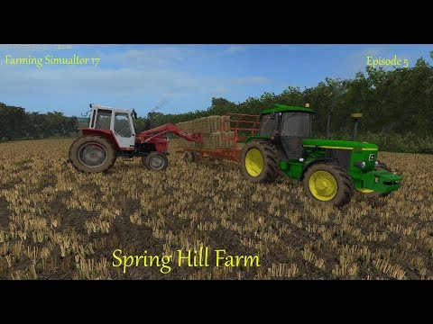 Fs17 - Spring Hill Farm - Episode 5 - Loading Bales