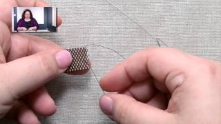 Stitches: Adding and Ending Thread in Peyote Stitch