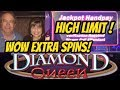 HANDPAY! JACKPOT DIAMOND QUEEN SLOT MACHINE BONUS