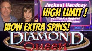 JACKPOT DIAMOND QUEEN SLOT MACHINE-POKIES Intros by Robert M Like V...