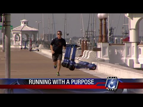 Assistant chief runs tomorrow's marathon as a tribute to policemen killed in line of duty