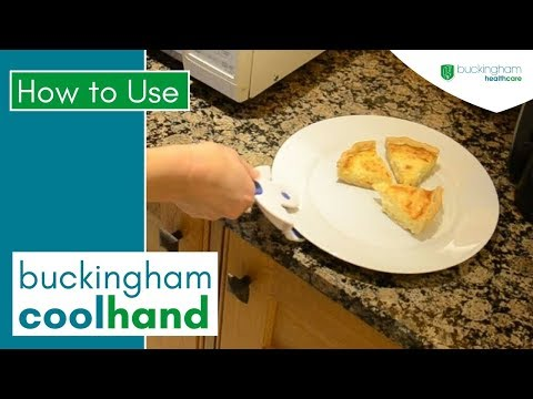 How to Carry Hot Plates with the Buckingham Coolhand