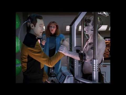 Data vs. Locutus of Borg - Star Trek the next generation
