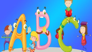 ABC Phonics song + More Nursery rhymes and Kids Songs - Helen Happy Show