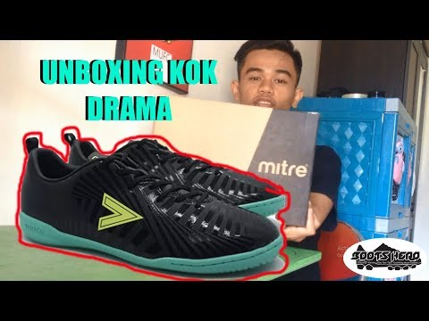 Drama Unboxing Sepatu Futsal Mitre Optimize IN