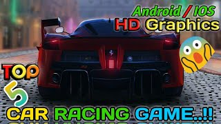 TOP 5 CAR_RACING_GAMES [Online/Offline] FOR ANDROID & IOS || BEST RACING GAME || PRITAM DAS
