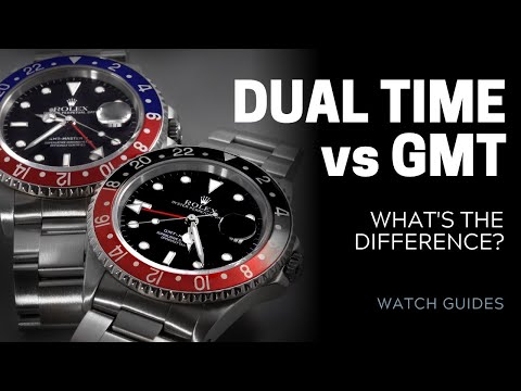Dual Time Vs GMT Watches: What's The Difference?   SwissWatchExpo
