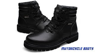 Best Men Motorcycle Boots in Aliexpress||Men Motorcycle Boots