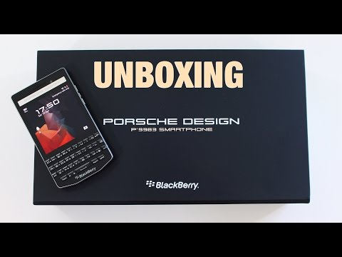 Porsche Design P'9983 by BlackBerry - Unboxing