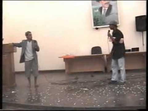مسرحية اخر مرة في حفل  تخرج المعهد البريطاني للعلوم والتقنية الحديدة اليمن 2006