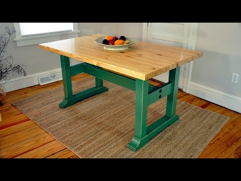 how-to-build-a-trestle-table---plans-available!