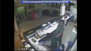 Polis Hentak Kepala Pekerja Hotel Dengan Pistol 17 Julai 2012