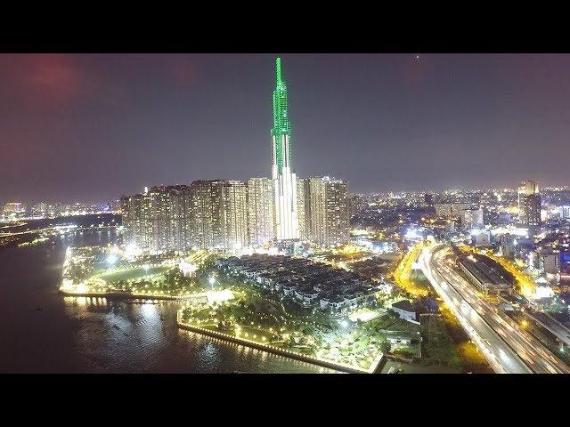 FLYCAM The Landmark 81 - Toà tháp cao nhất Việt Nam - TOP 10 thế giới