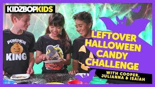 Leftover Halloween Candy Challenge with Cooper, Julianna & Isaiah