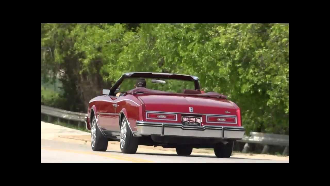 1982 Buick Riviera Convertible  YouTube
