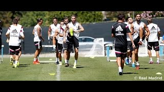 BEHIND THE SCENES: Casillas, Modric & Ramos join the team