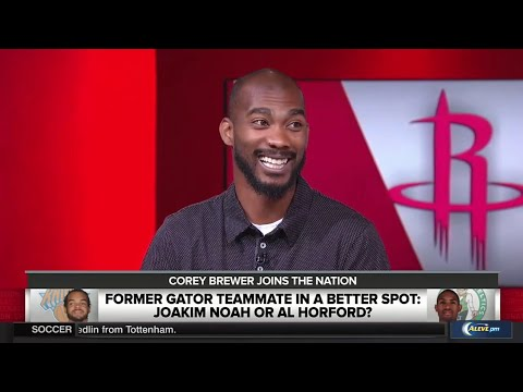 Corey Brewer Interview On James Harden, Stephen Curry & Rockets