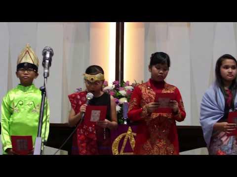 Liturgi Ragam Bahasa, Natal ASM Kelas Besar, 17 Des 2017 di HKBP Serpong