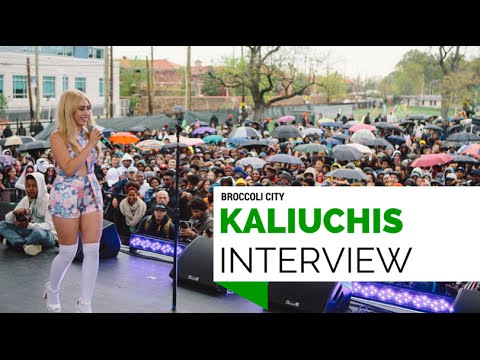 Kali Uchis - interview - Broccoli City