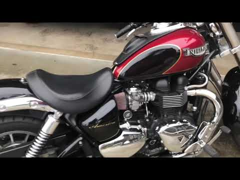 2007 TRIUMPH AMERICA EXHAUST AND INTAKE MODS