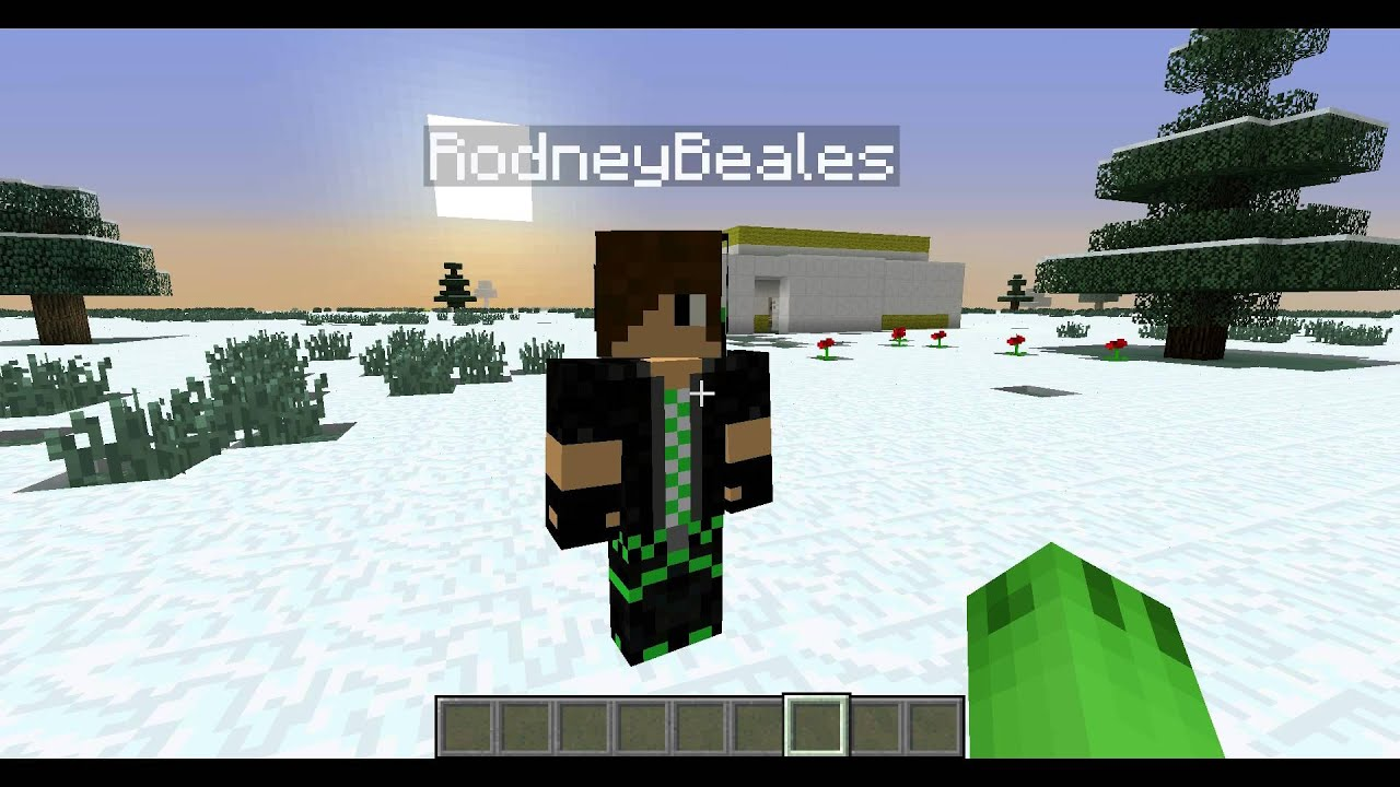 Youtube Do You Want To Build A Snowman Minecraft