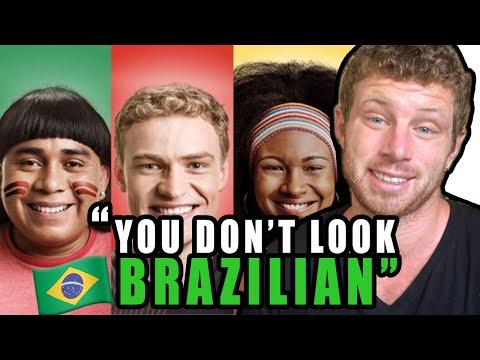You Don't Look BRAZILIAN Desabafo  não parece Brasileiro