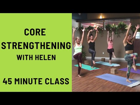45 Minute Yoga Class - Core Strengthening