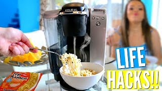 DIY Morning & Night Routine Life Hacks Every LAZY PERSON Should Know! | Krazyrayray