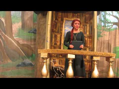 Sarah Leonard as Little Fiona in Shrek the Musical
