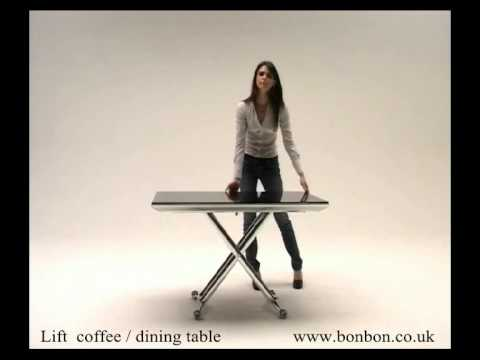 Lift coffee dining table by Bonboncouk YouTube