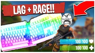 THE BIGGEST FORTNITE: BATTLE ROYALE RAGE EVER! | TBNRKENWORTH