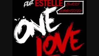 David Guetta Ft Estelle - ONE LOVE [DJ MEBBE]  BASS BOOSTED