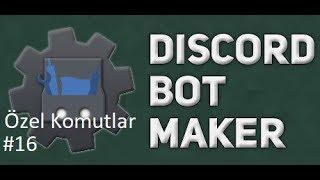 Basit Ascii  Komutu | Discord Bot Maker Özel Komutlar Komutları #16