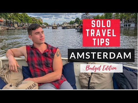 Top Things To Do In Amsterdam On A Budget | Solo Travel Guide