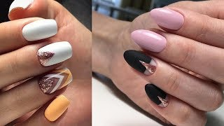New Nail Art Designs Thin lines✔The Best Nail Art Tutorial Compilation